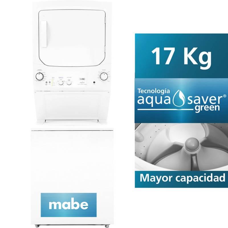 MABE - Centro de Lavado Mabe a Gas Blanco 17 kg