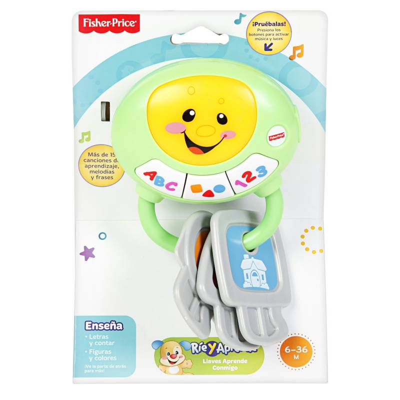 FISHER PRICE - Llave Fisher Price Aprende