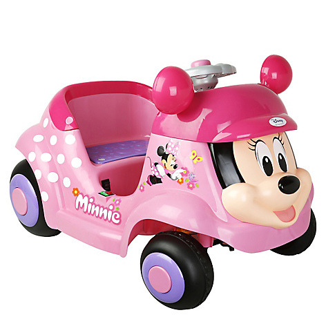 Carro Disney Con Cara De Minnie Mouse Falabella Com