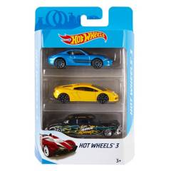 HOT WHEELS - Pack de 3 Carritos