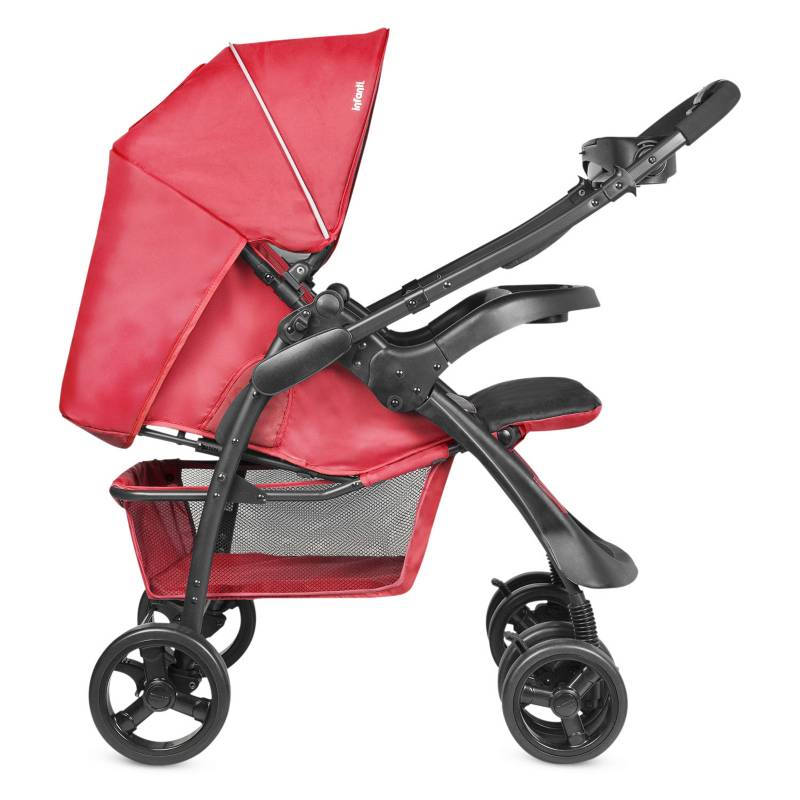 INFANTI - Coche Travel System Andes Rojo