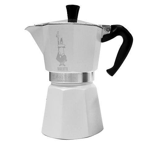 Cafetera bialetti moka blanco 3 tazas - Cafetera moka ...