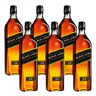 Whisky Black Label Pack x6 Botellas 750 ml