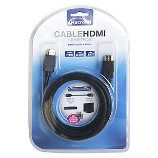 Cable HDMI MV-2310 1,8 mt