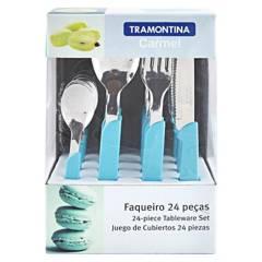 TRAMONTINA - Juego de Cubiertos x 24 Piezas Carmel