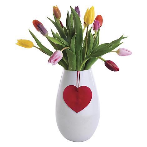 Arreglo Floral Rosatel 15 Tulipanes Corazón Falabellacom