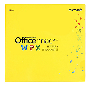 Office Mac Home Student 2011 32/64