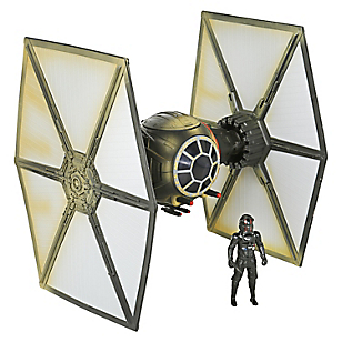 Nave Tie Fighter + Figura de Acción 9,5 cm