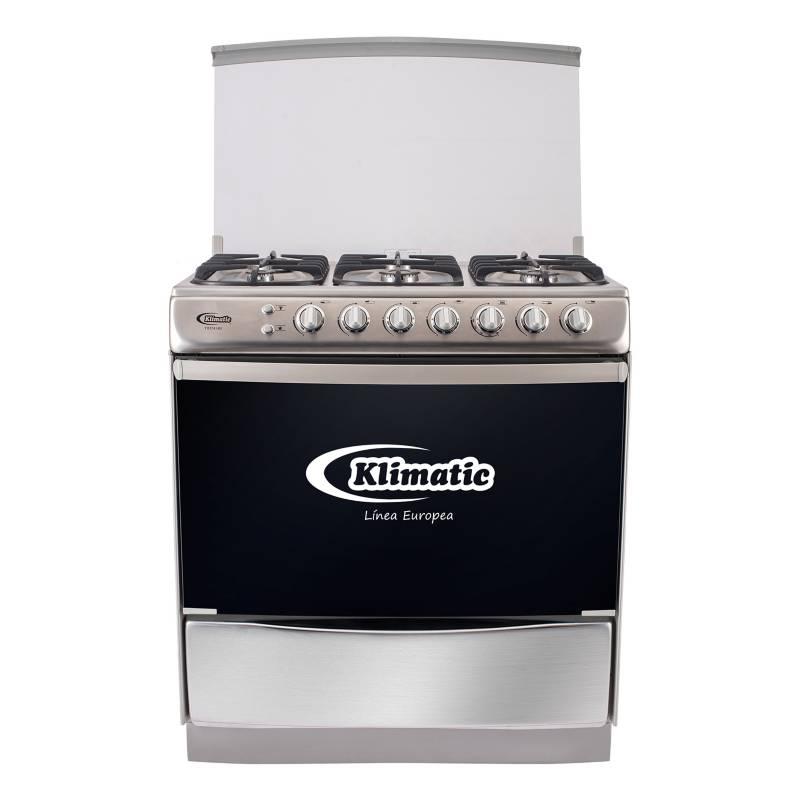 KLIMATIC - Klimatic Cocina Tremare 6 Hornillas Inox