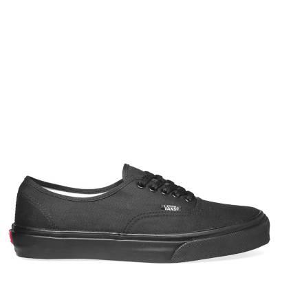 zapatillas negras mujer vans