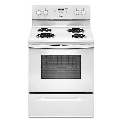 cocina el ctrica whirlpool 4 hornillas wfc150m0ew blanco On cocina electrica whirlpool