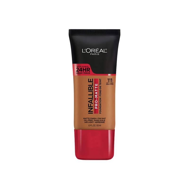 L´ORÉAL PARIS MAQUILLAJE - Base de Maquillaje Infallible Pro-Matte 30 ml