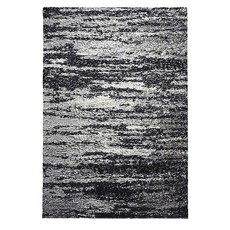 Alfombra dib emotion 200 x 290 cm negro for Alfombras falabella
