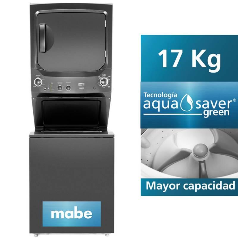 MABE - Centro de Lavado Mabe a Gas Diamond Gray 17 kg