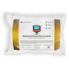 NATIONAL ALLERGY - Almohada Antiácaros Bacterias y Hongos Estándar 53x69cm