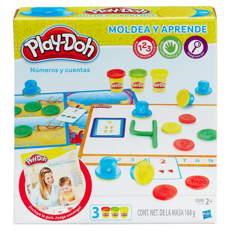 PLAY DOH - Masa PD 2 Learning Numbers
