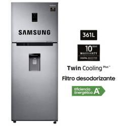 SAMSUNG - Refrigeradora 361lt RT35K5930SL Silver