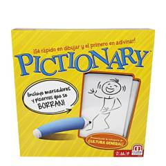 PICTIONARY - Juego de Mesa Mattel Games Pictionary Original