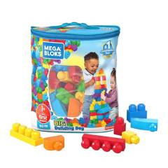 MEGA BLOKS - Gran Bolsa Clásica Para Construir Mega Bloks