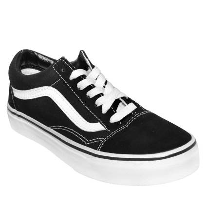 zapatillas mujer vans negras