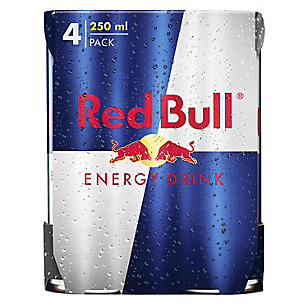 Red Bull Energy Drink 250ml 4 Pack