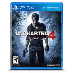 SONY - Videojuego Uncharted 4: A Thief's End