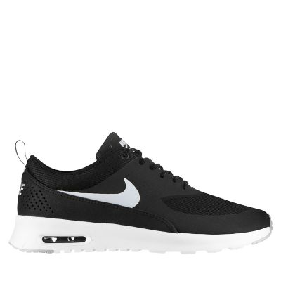 nike air max thea mujer negras