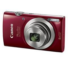 CANON - Cámara PowerShot 20 MP 8x Elph 180 Rojo
