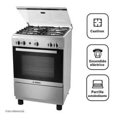 BOSCH - Cocina 4 hornillas PRO425 IX