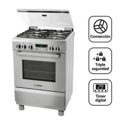 BOSCH - Cocina 4 hornillas PRO467 IX