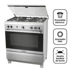 BOSCH - Cocina 5 hornillas PRO545 IX