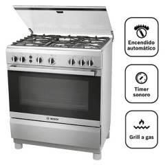 BOSCH - Cocina 5 hornillas PRO547 IX