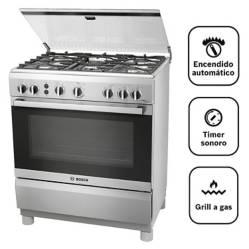 BOSCH - Cocina A Gas 05 Quemadores Pro 547 Ix