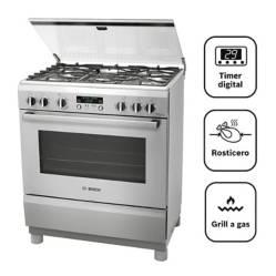 BOSCH - Cocina A Gas 05 Quemadores Pro 565 Ix