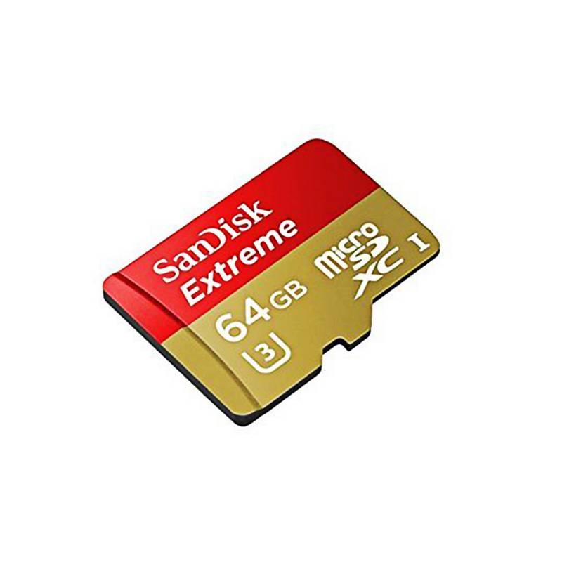 SANDISK - Memoria Micro SD 64 GB Mobile Extreme AC
