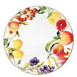 ROBERTA ALLEN - Bandeja 36 cm Frutas Handpaint