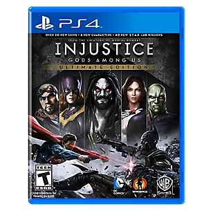 Videojuego para PS4 Injust Gods Among Us Ultimate Edition
