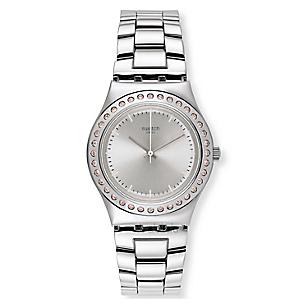 Reloj De Acero Swatch Mujer Yls172g Falabella Com