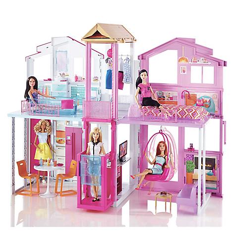 Barbie Casa de Campo - Falabella.com