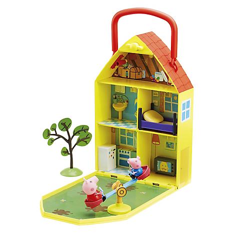Peppa Peppa Casa de juego y jardín - Falabella.com