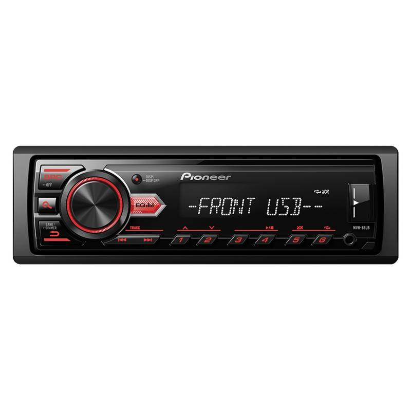 PIONEER - Radio para auto USB MVH-85UB