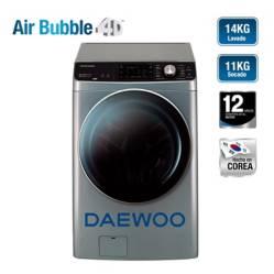 DAEWOO - Lavaseca- Daewoo 14 kg / 11 kg DWC-PISA14S Silver