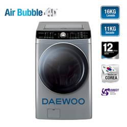 DAEWOO - Lavaseca Daewoo 16 kg / 11 kg DWC-PISA16I Inox