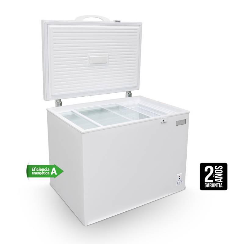 LIBERO - Congeladora LFH-200 Dual 200 lt Blanco