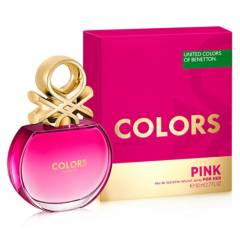 BENETTON - Fragancia Df Colors Pink Her  30 ml
