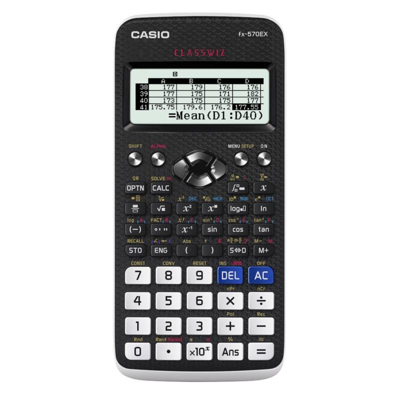 CASIO - Calculadora Científica FX-570 EX