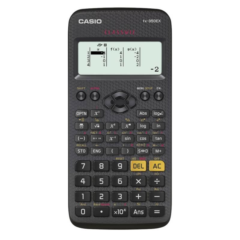 CASIO - Calculadora Científica FX-350 EX