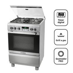 BOSCH - Cocina A Gas 04 Quemadores Pro 449 Ix