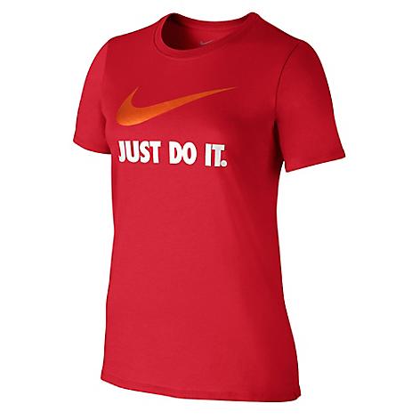Camiseta Nike Just Do It Swoosh Rojo - Falabella.com d8fa7f9885b85