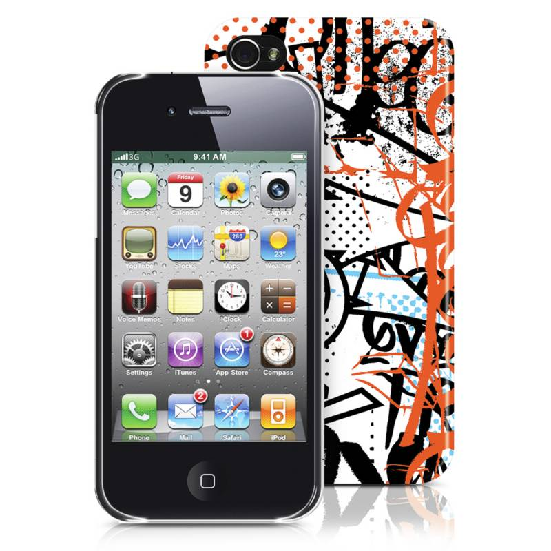 MERKURY - Carcasa para iPhone 4/4S Multicolor